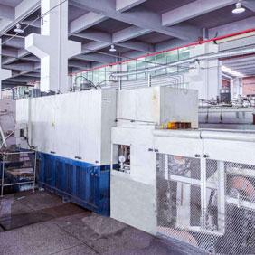 瑞士SOLO网带式贝氏体盐浴淬火炉生产线